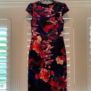 Beaty Johnson floral sheath dress